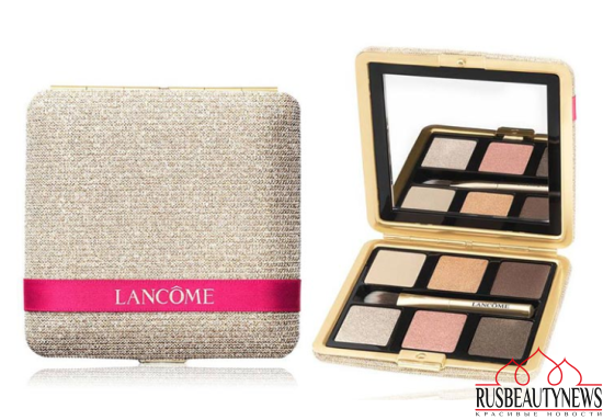 Lancome Holiday 2016 Paris En Rose Collection eyeshadow palette