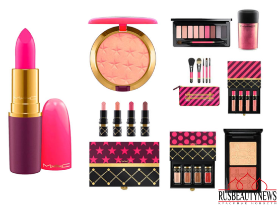 MAC Nutcracker Sweet Holiday 2016 Collection look