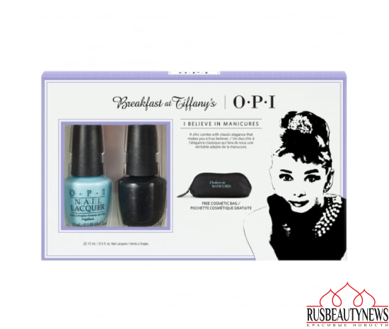 OPI Breakfast At Tiffany's Nail Polish Collection 2016 Believe In Manicures Duo Pack