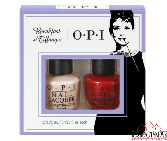 OPI Breakfast At Tiffany's Nail Polish Collection 2016 Bubble Bath Mini-2 Pack Duo