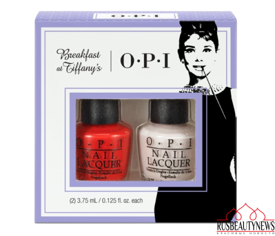 OPI Breakfast At Tiffany's Nail Polish Collection 2016 - Meet My Decorator Mini-2 Pack Duo