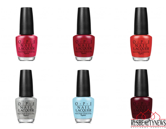 OPI Breakfast at Tiffany's Holiday 2016 Collection цвета2