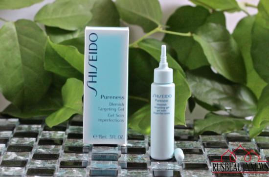 Shiseido Pureness Blemish Targeting Gel отзыв