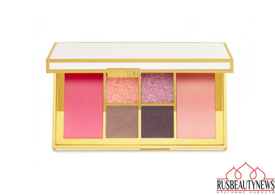 Tom Ford Winter Soleil Holiday 2016 Collection eye palette cool