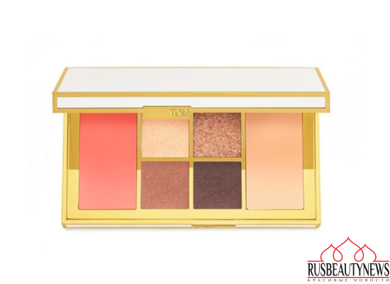 Tom Ford Winter Soleil Holiday 2016 Collection eye palette warm