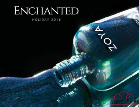 Zoya Enchanted Holiday 2016 Collection