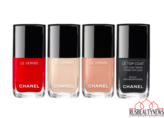 Chanel Coco Codes Spring 2017 nail