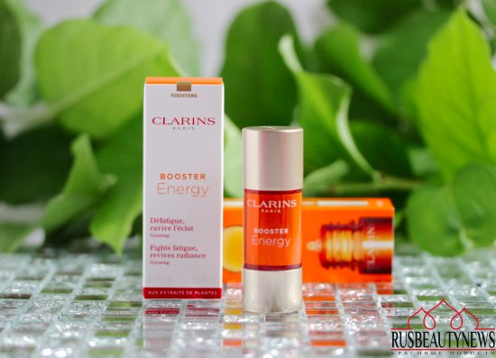 Clarins Booster Energy отзыв