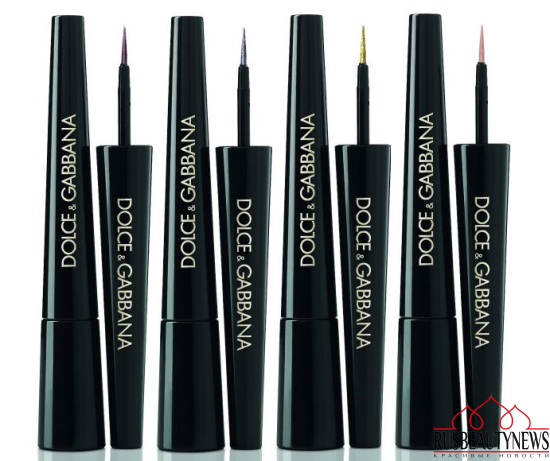 Dolce & Gabbana Baroque Night Out Collection for Holiday 2016 eyeliner