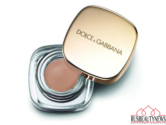 Dolce & Gabbana Baroque Night Out Collection for Holiday 2016 eyeshadow Beige
