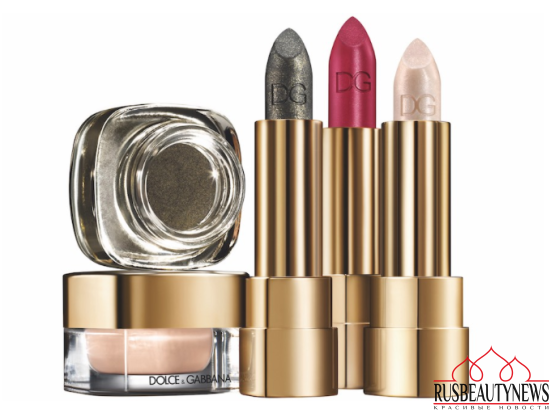 Dolce & Gabbana Baroque Night Out Collection for Holiday 2016 lipstick