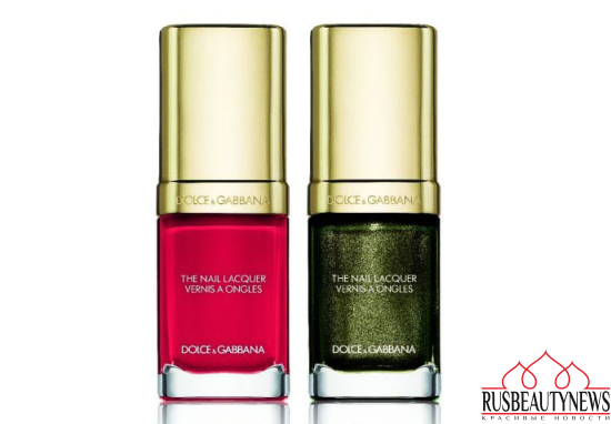 Dolce & Gabbana Baroque Night Out Collection for Holiday 2016 nail color