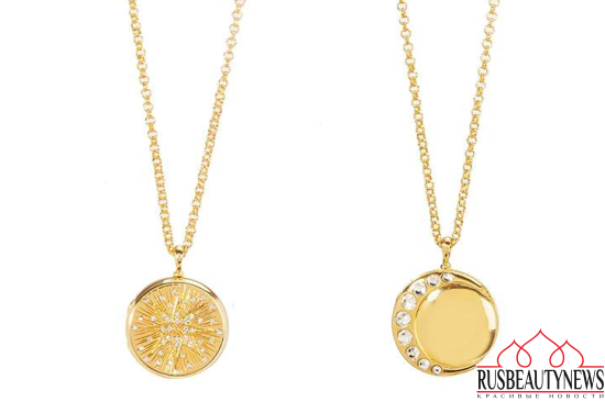 Estee Lauder and Monica Rich Kosann Holiday 2016 Compact Collection necklace