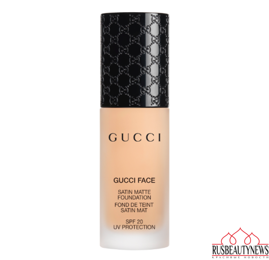 Gucci Holiday 2016 Collection satin matte foundation