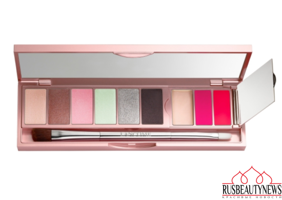 Lancôme Absolutely Rôse Collection for Spring 2017 palette