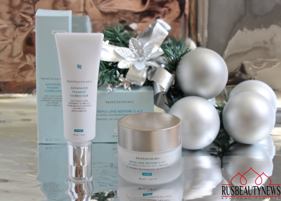 SkinCeuticals Advanced Pigment Corrector and Triple Lipid Restore 2-4-2 обзор