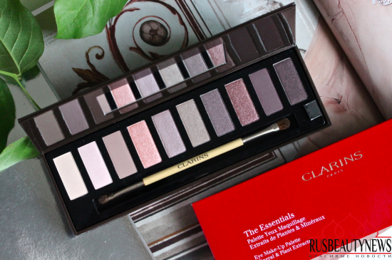 Clarins The Essentials Eye make-up palette 2016 обзор