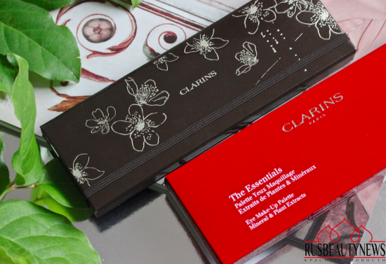 Clarins The Essentials Eye make-up palette 2016 отзыв