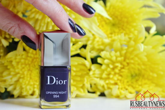 Dior Vernis 994 Opening night Review