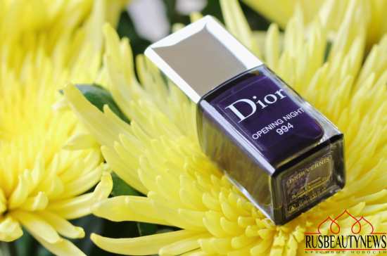 Dior Vernis Couture colour 994 Opening night обзор