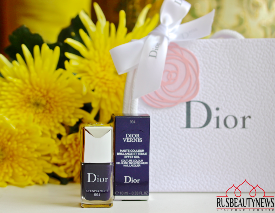 Dior Vernis Couture colour 994 Opening night отзыв