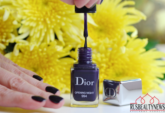 Dior Vernis Couture colour 994 Opening night