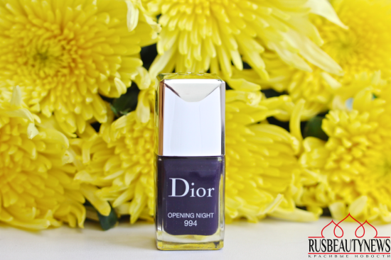 Dior Vernis Couture colour 994 Opening night Review