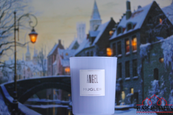 Mugler Angel scented candle обзор