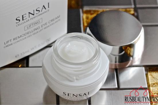 Sensai Cellular Performance Lift Remodelling Eye Cream look