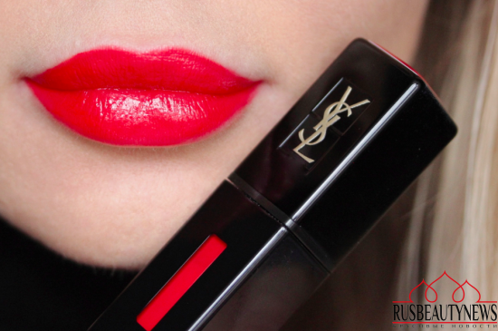 YSL Rouge Pur Couture Vernis A Levres Vinyl Cream 411