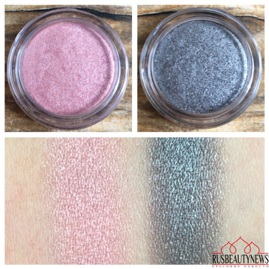 Clarins spring 2017 Ombre Iridescente swatches
