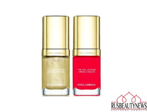 Dolce&Gabbana Tropical Spring Collection nail