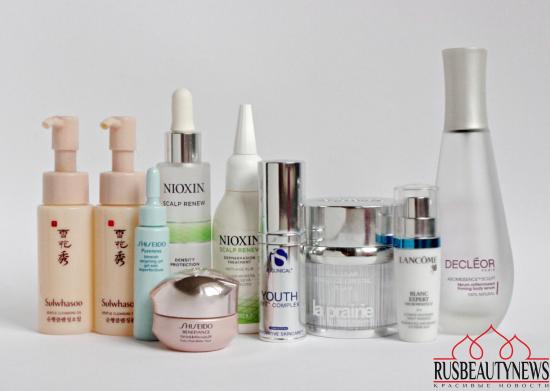 Empty Cosmetic Bottles La Prairie, Shiseido, Nioxin, Decleor, Sulwhasoo