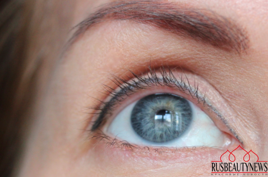 Giorgio Armani Eccentrico Instant Hight Volume&Definition mascara look