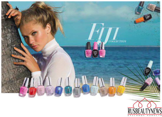 OPI Fiji Collection Spring:Summer 2017