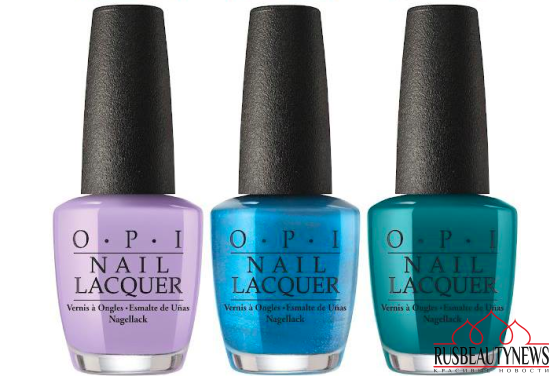 OPI Fiji Collection Spring:Summer 2017  color2