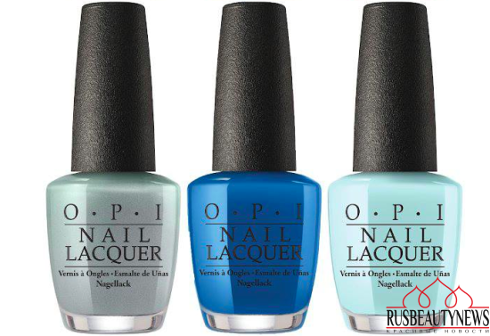 OPI Fiji Collection Spring:Summer 2017  color3