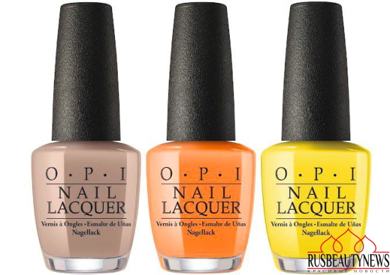 OPI Fiji Collection Spring:Summer 2017  color4