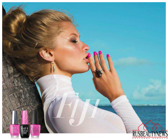 OPI Fiji Collection Spring:Summer 2017  look