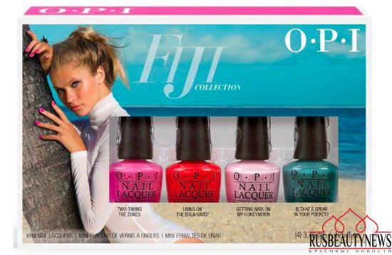 OPI Fiji Collection Spring:Summer 2017  set