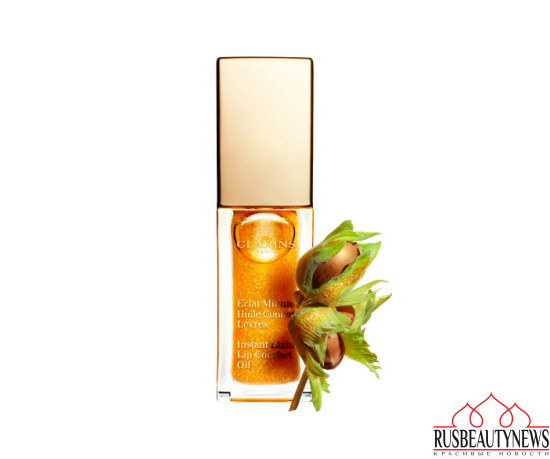 Clarins Lip Comfort Oil 2017 honey glam 07