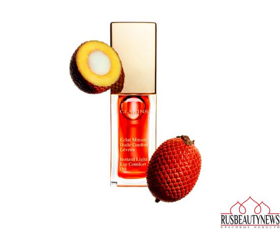Clarins Lip Comfort Oil 2017 tangerine 05