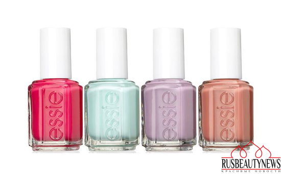 Essie Spring 2017 Resort Collection