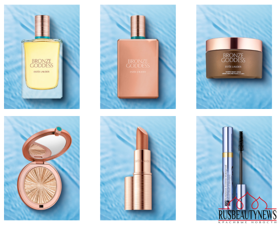 Estee Lauder Bronze Goddess Summer 2017 Collection