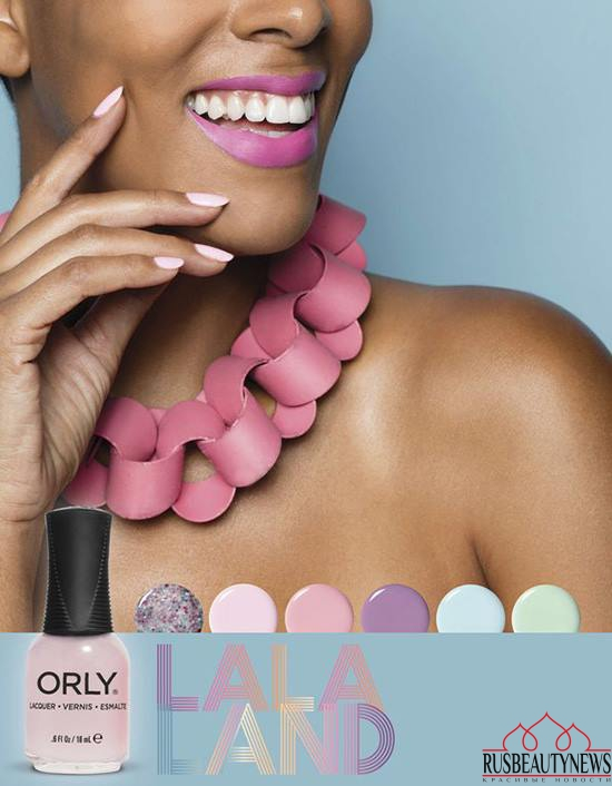 ORLY Spring 2017 La La Land Collection look