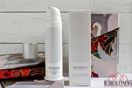 Sensai Silk peeling mask отзыв