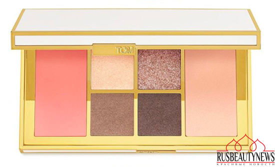 Tom Ford Summer 2017 Soleil Collection palette