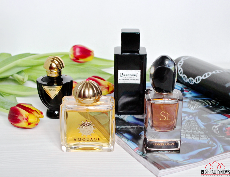 My favorite perfumes in February