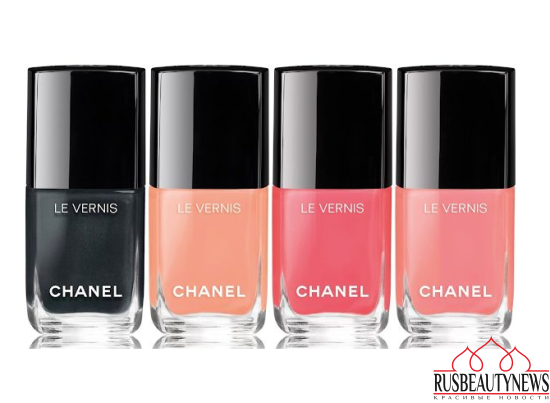 Chanel Les Indispensables de L'Ete Collection for Summer 2017 nail