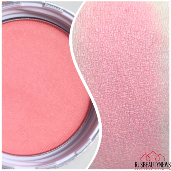 Clarins Skin Illusion Blush 01 Luminous pink swatches